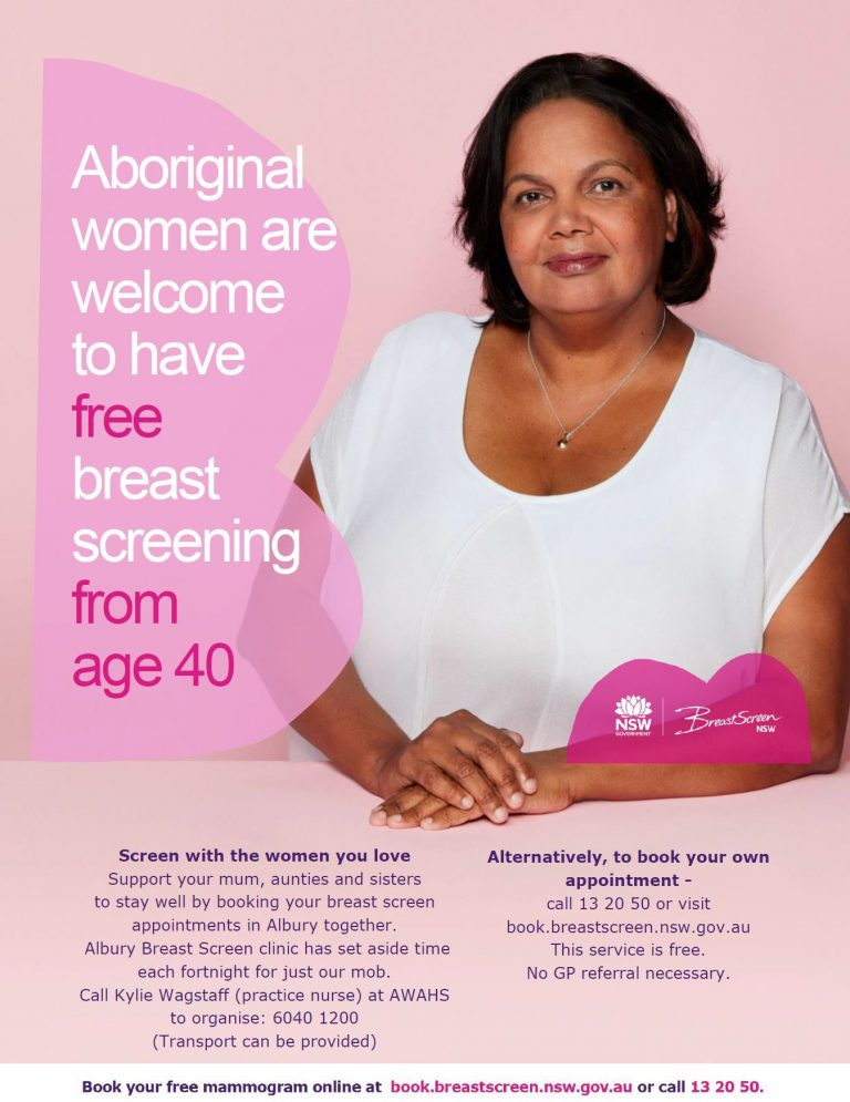 Breastscreen NSW at AWAHS