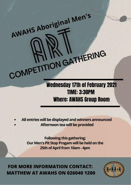 Albury Wodonga Aboriginal Men's Gathering Invitation